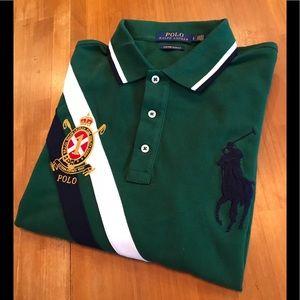 POLO RALPH LAUREN Long Sleeve Logo Polo